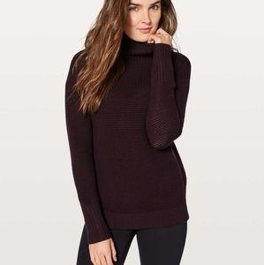 Lululemon Warm & Restore Sweater size 10